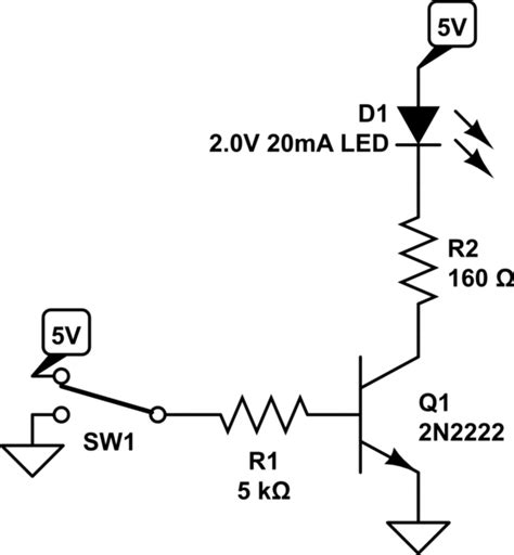 npn transistor driving led saving a resistor on an npn transistor current source sink when driving leds electrical