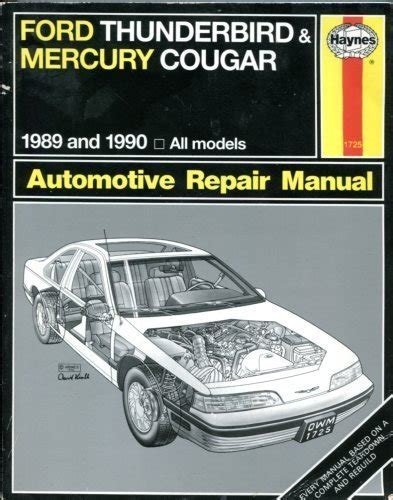 best car repair manuals 1990 ford thunderbird auto manual cougar ford for sale only 2 left at 65