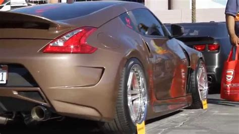 custom nissan 370z body nissan 370z custom wide body youtube