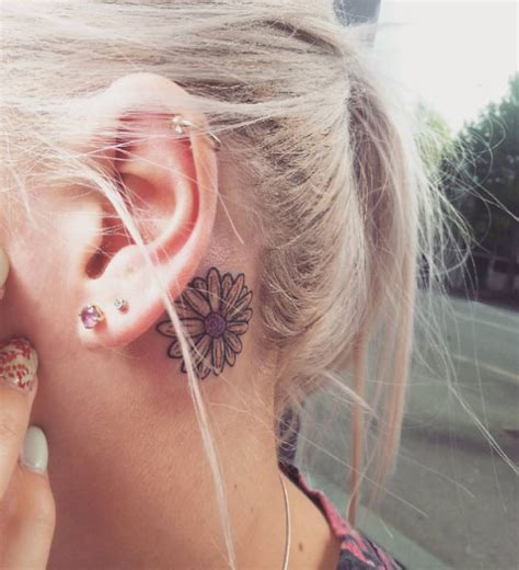 amazing   ear tattoos  women tattooblend