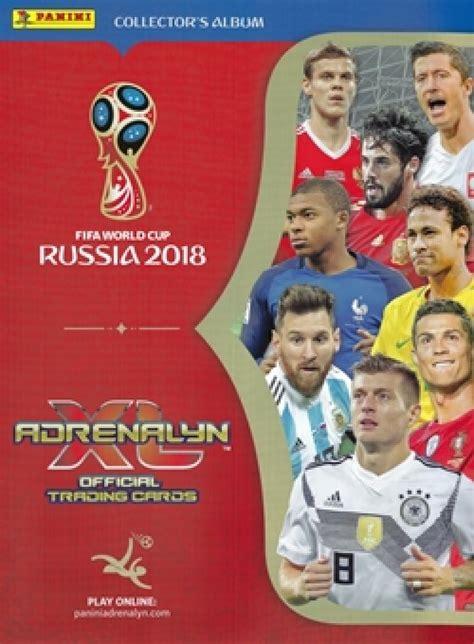 Fifa 2018 Reg 3 wm 2018 fifa world cup russia 2018 adrenalyn xl trading