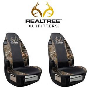Camo Car Seat Covers Walmart Front Car Truck Suv Seat Covers Realtree Outfitters
