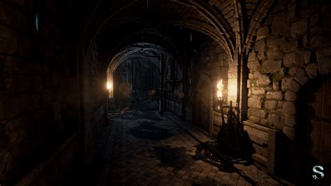 fantasy dungeon by silvertm in environments ue4 marketplace