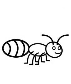 ant color az coloring pages