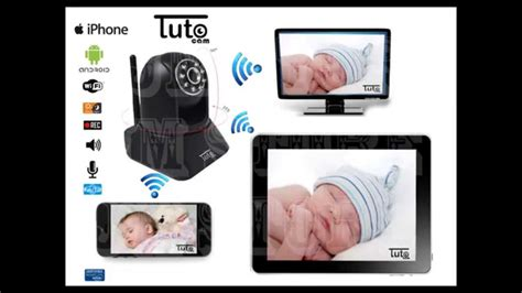 wireless wifi baby monitor ip home security