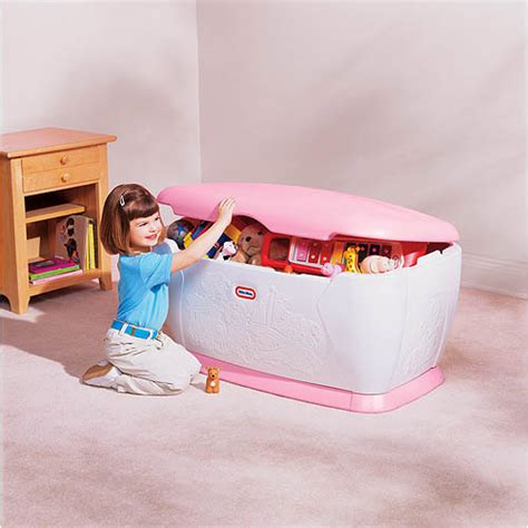 Tikes Box Pink With Shelf by Tikes Chest Walmart