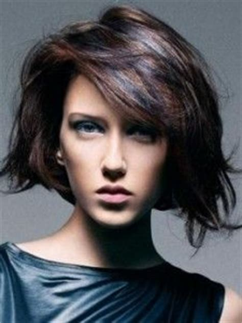 silver white low lites in shag hair styles 297 best images about the cut on pinterest bobs bangs