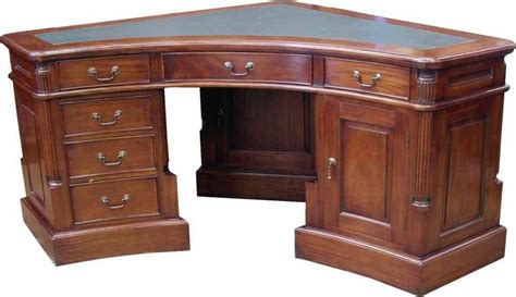 Solid Oak Corner Desks For Home Office Decor Ideasdecor Solid Oak Office Desk