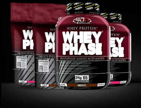 Whey Phase Whey Phase By 4 Dimension Nutrition At Bodybuilding