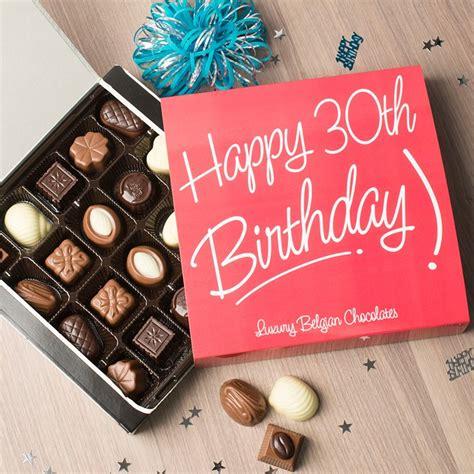 personalised belgian chocolates happy birthday