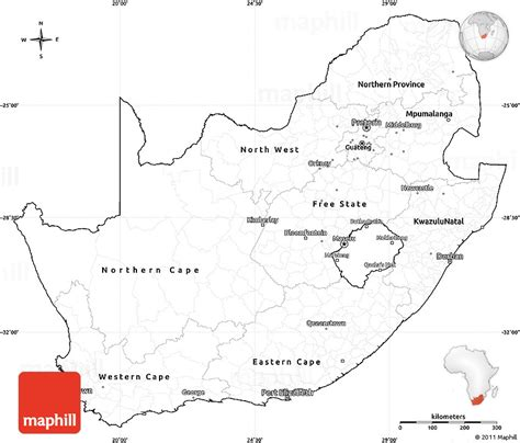south africa map outline blank simple map of south africa cropped outside