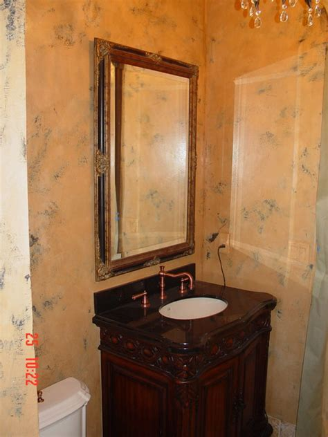 chosing powder room finishes powder room venetian plaster finish