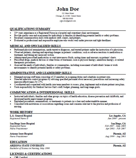 exles of skill sets for resume resume ideas