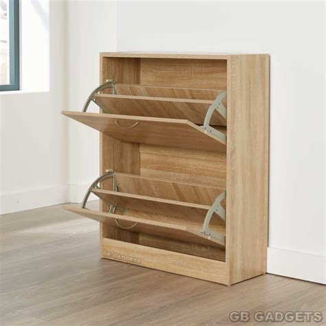 shoe storage drawer wooden shoe rack with drawers size of ikea slim