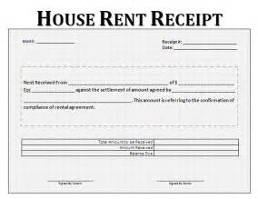 House Rent Receipt Template Uk Rent Receipt Format For House And Property Free Business