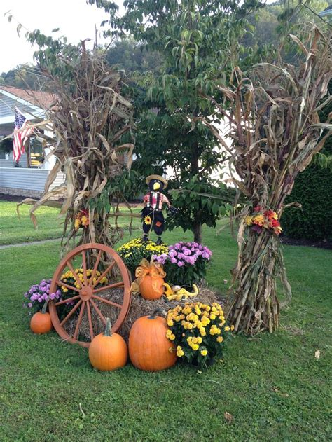 fall decorations ideas  pinterest