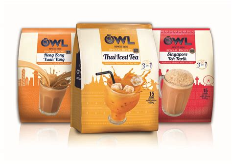 Ordering Coffee And Tea In Singapore by Owl Serves Up 3 New Special Recipe Instant Milk Teas For