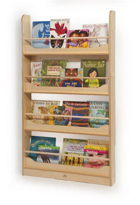 Wall Mount Book Shelf Whitney Bros Wall Mount Book Shelves