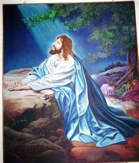 imagenes orando con jesus dibujos de jesus orando en el huerto imagui