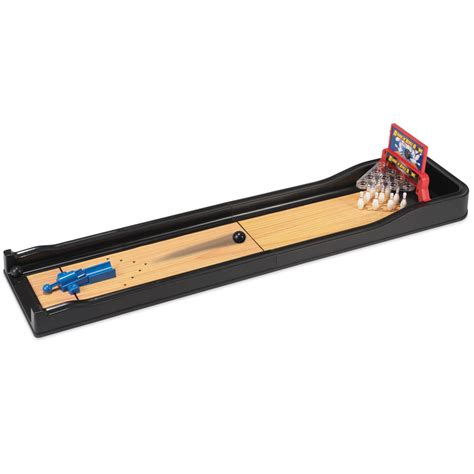 classic table top bowling game hammacher schlemmer