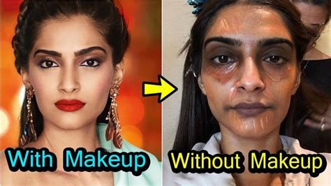 bollywood heroines with and without makeup 20 shocking looks of bollywood actress without makeup