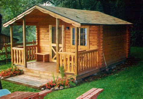 Two Room Log Cabin by Cing Cabins Lancaster Log Cabins