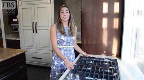 laura report  jenn air downdraft gas cooktop youtube