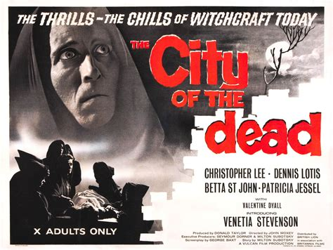 City Of The Dead the city of the dead 1960s b posters