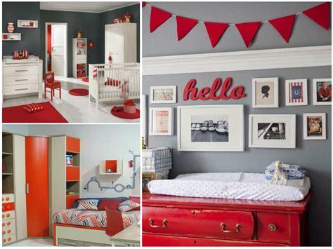 cuarto gris con rojo habitaciones infantiles 161 el gris no tiene porque ser