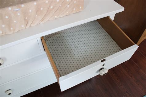 our nesting ground diy fabric drawer liner