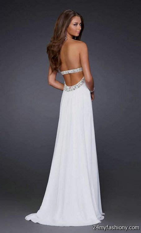 white and gold open back prom dress 2016 2017 b2b fashion white open back prom dress 2016 2017 b2b fashion