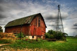 Barn F The Industrialized Landscape Time And Monuments This