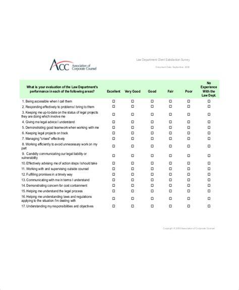 client study template client satisfaction survey template 6 free word pdf