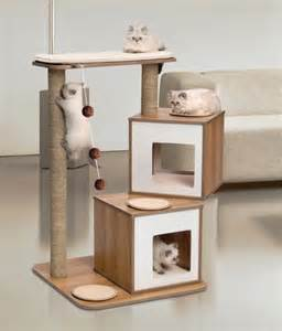 Modern Cat Tree super stylish cat houses furniture amp home essentials for