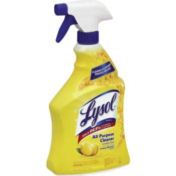 lysol ready    purpose cleaner lemon breeze  ounce spray bottle hd supply