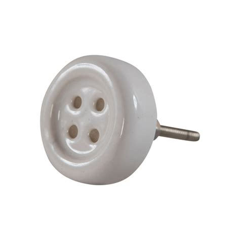 Knob Button by Button Ceramic Door Knob Available In 4 Colours