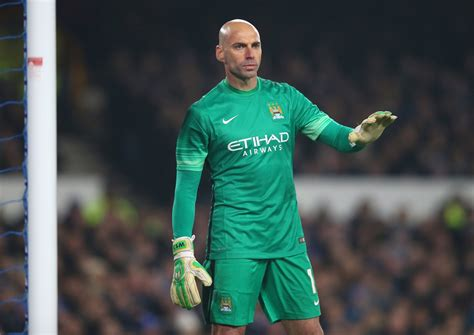 Willy Caballero Manchester City Vs Liverpool Willy Caballero Eager To