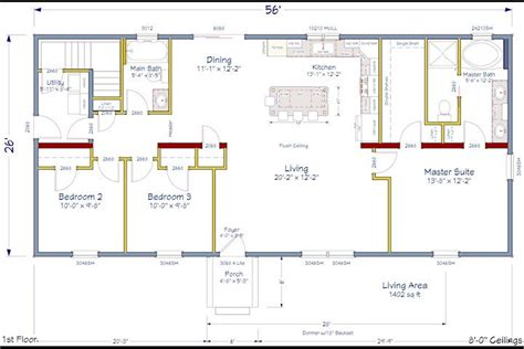 Floor Plans Open Concept Open Concept Floor Plan Simple But Living
