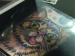 cat tattoo new york new york cat lovers start trend for feline inkings