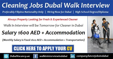 Cleaner Jobs In Dubai | female cleaner jobs in dubai