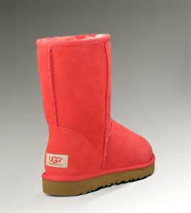colored uggs coral uggs so pretty my style