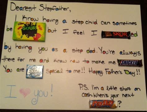 father s day card for stepdad father s day pinterest