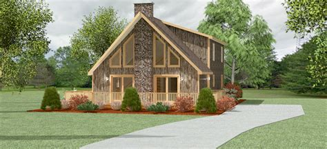 small chalet home plans
