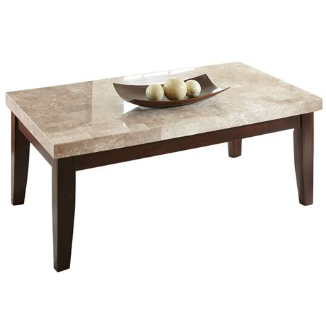 steve silver monarch coffee table in cherry mc700c