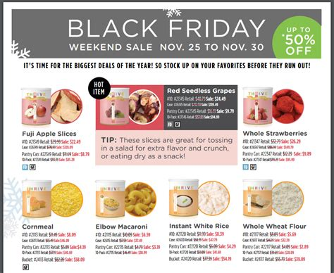 thrive black friday flyer top food storage reviews