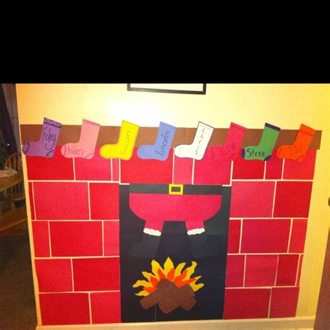 How To Make A Paper Fireplace For - construction paper fireplace holidays