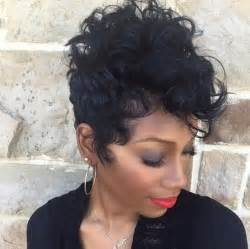 s curl hairstyles for black 19 cute wavy curly pixie cuts we love pixie haircuts