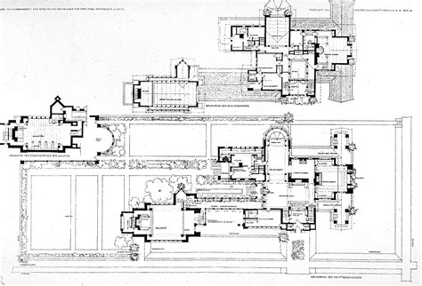 frank lloyd wright house plans frank lloyd wright buildings frank lloyd wright dana house