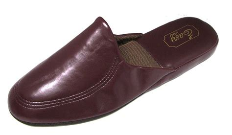 mens bedroom slippers leather best 25 mens leather slippers ideas on pinterest