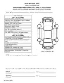car inspection daily checklist fill online printable
